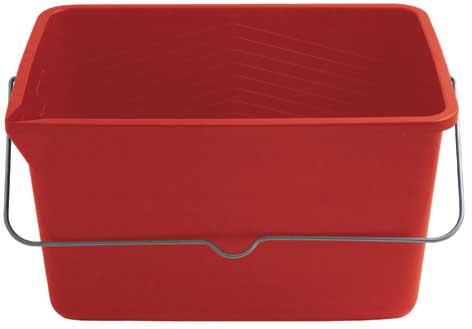 Ведро для краски FIT, 12 л, цвет: красный531-105Ведро FIT используется для работы с краской. Характеристики: Материал: пластик. Размеры ведра: 35 см х 25 см х 20 см. Размеры дна ведра:29,5 см х 20 см. Объем: 12 л. Размер упаковки: 35 см х 25 см х 20 см. Производитель:Китай. Артикул:04022.
