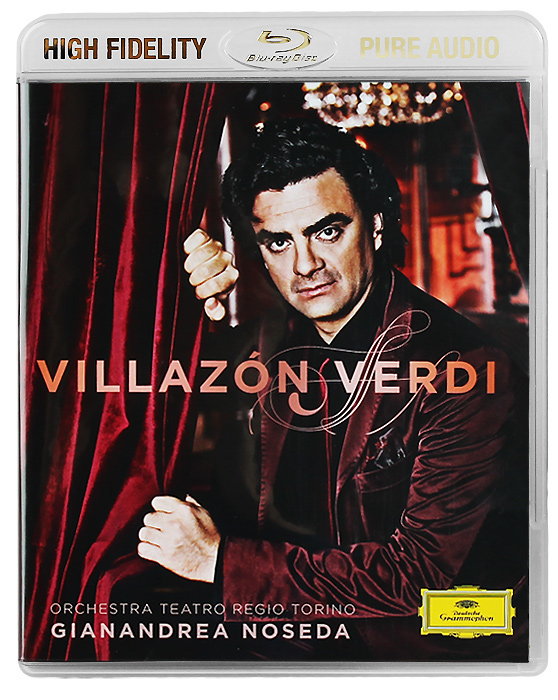 Роландо Виллазон,Orchestra Teatro Regio Torino,Жанандреа Нозеда Rolando Villazon, Orchestra Teatro Regio Torino. Gianandrea Noseda. Verdi (Blu-Ray Audio) the berlin concert domingo netrebko villazon blu ray