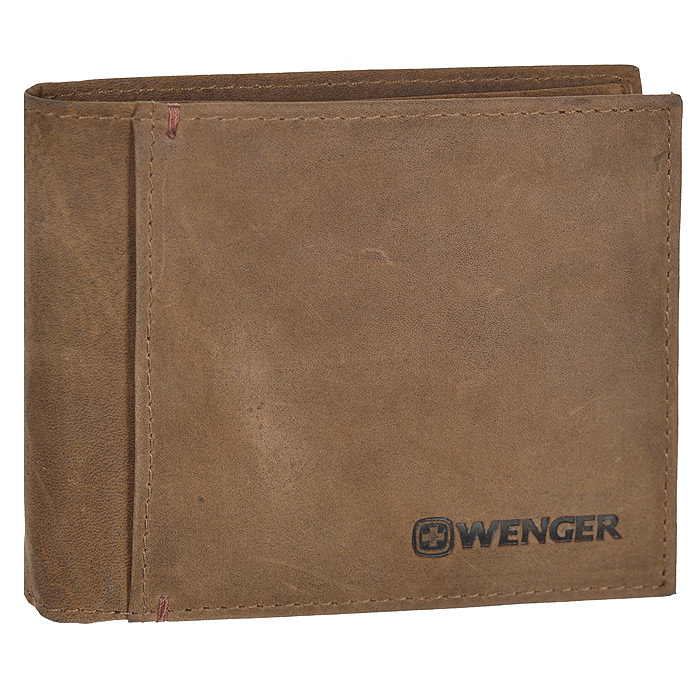 Портмоне Wenger, цвет: коричневый. WEW001.701-022_516Портмоне Wenger выполнено из натуральной кожи коричневого цвета. Внутри находятся два отделения для купюр, три отделения для кредитных карт, визиток и прочих мелких бумаг, три потайных кармана внутри и один на лицевой стороне. Это классическое портмоне непременно подойдет к вашему образу и порадует простотой и стилем. Портмоне упаковано в коробку из плотного картона с логотипом фирмы.По всем вопросам гарантийного и постгарантийного обслуживания рюкзаков, чемоданов, спортивных и кожаных сумок, а также портмоне марок Wenger и SwissGear вы можете обратиться в сервис-центр, расположенный по адресу: г. Москва, Саввинская набережная, д.3. Тел: (495) 788-39-96, (499) 248-56-56, ежедневно с 9:00 до 21:00. Подробные условия гарантийного обслуживания приведены в гарантийном талоне, поставляемым в комплекте с каждым изделием. Бесплатный ремонт изделий производится при условии предоставления гарантийного талона и товарного/кассового чека, подтверждающего дату покупки. Характеристики:Материал: натуральная кожа, текстиль. Размер в сложенном виде: 11 см х 9 см х 2 см. Цвет: коричневый. Размер упаковки: 14 см х 11 см х 4 см. Изготовитель:Индия. Артикул: WEW001.70.