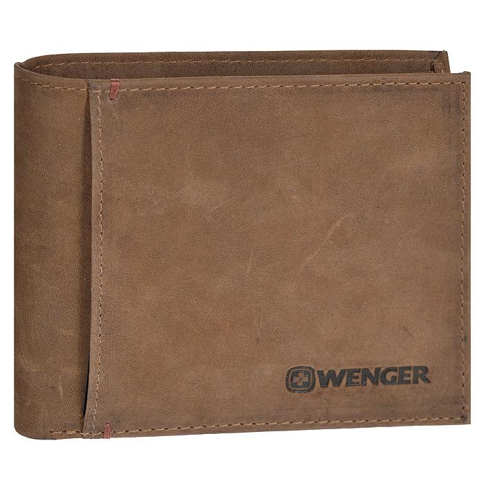 Портмоне Wenger, цвет: коричневый. WEW012.70ADYHA03386-WBB0Портмоне Wenger выполнено из натуральной кожи коричневого цвета. Внутри находятся два отделения для купюр, шесть отделений для кредитных карт, визиток и прочих мелких бумаг, два потайных кармана внутри и один на лицевой стороне. Это классическое портмоне непременно подойдет к вашему образу и порадует простотой и стилем. Портмоне упаковано в коробку из плотного картона с логотипом фирмы.По всем вопросам гарантийного и постгарантийного обслуживания рюкзаков, чемоданов, спортивных и кожаных сумок, а также портмоне марок Wenger и SwissGear вы можете обратиться в сервис-центр, расположенный по адресу: г. Москва, Саввинская набережная, д.3. Тел: (495) 788-39-96, (499) 248-56-56, ежедневно с 9:00 до 21:00. Подробные условия гарантийного обслуживания приведены в гарантийном талоне, поставляемым в комплекте с каждым изделием. Бесплатный ремонт изделий производится при условии предоставления гарантийного талона и товарного/кассового чека, подтверждающего дату покупки. Характеристики:Материал: натуральная кожа, текстиль. Размер в сложенном виде: 11 см o 9 см х 1,5 см. Цвет: коричневый. Размер упаковки: 14 см х 11 см х 4 см. Изготовитель:Индия. Артикул: WEW012.70.