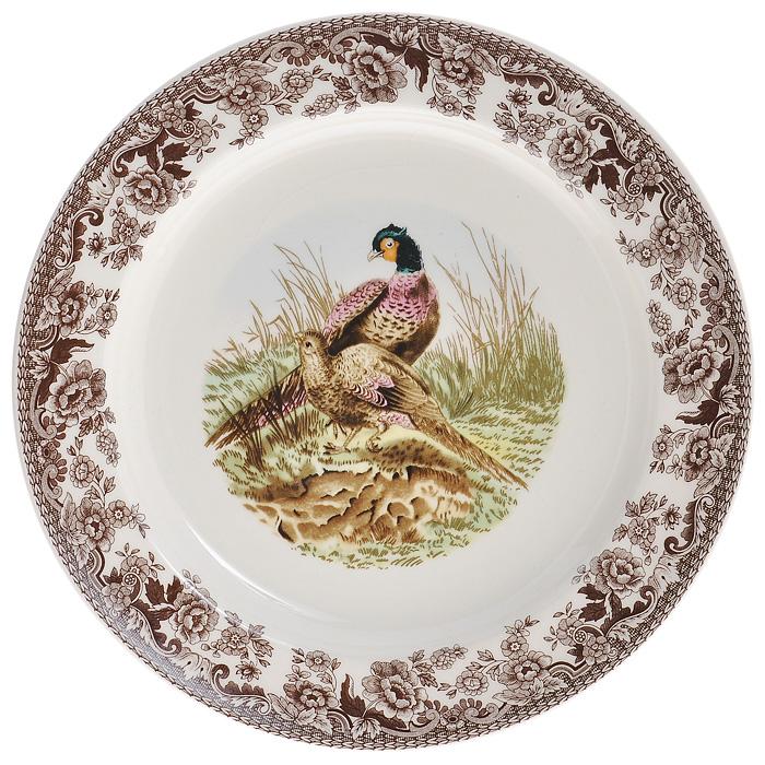 Тарелка десертная Lillo, диаметр 22 см. 213460FS-91909Десертная тарелка Lillo выполнена из высококачественой керамики. Тарелка кремового цвета оформлена коричневой цветочной каймой и украшена рисунком павлинов. Тарелка сочетает в себе изысканный дизайн с максимальной функциональностью. Красочность оформления придется по вкусу и ценителям классики, и тем, кто предпочитает утонченность и изысканность. Характеристики: Материал: керамика. Цвет: кремовый. Диаметр тарелки: 22 см. Высота тарелки: 2 см. Размеры упаковки: 3 см х 22,5 см х 22,5 см. Артикул: 213460.
