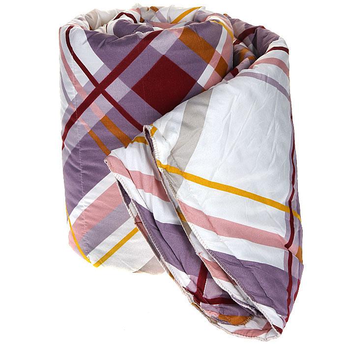 Одеяло Диана Мечта, наполнитель: термофайбер, 140 см х 205 см200(40)04-БВООдеяло Диана Мечта подарит вам незабываемое чувство комфорта и согреет в морозы. Чехол выполнен из полиэстера с принтом в разноцветную полоску, внутри - наполнитель термофайбер. Термофайбер - это синтетический утеплитель нового поколения c добавлением силиконизированных волокон, придающих повышенную теплостойкость, упругость и мягкость. Наполнитель делает одеяло легким и воздушным, с отличной терморегуляцией. Характеристики: Материал чехла: полиэстер. Наполнитель: термофайбер. Размер одеяла: 140 см х 205 см. Артикул: М-140-205.