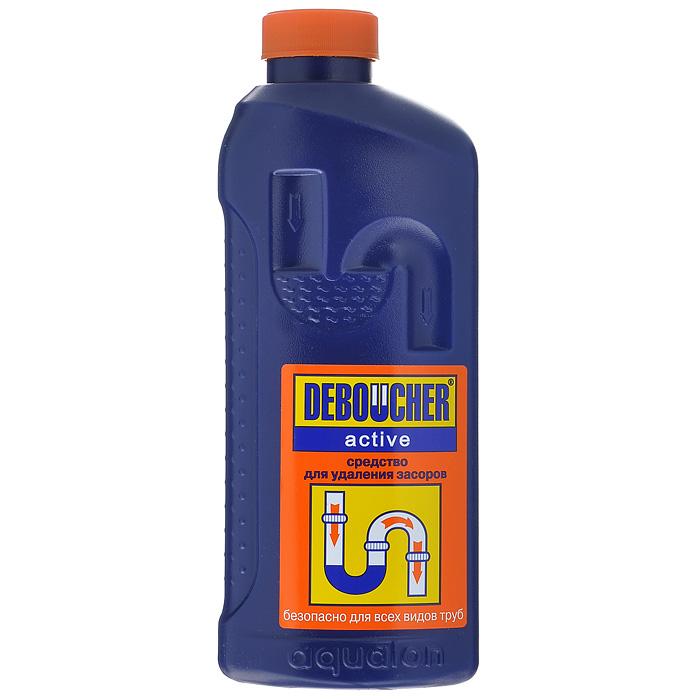 Средство для удаления засоров Deboucher Active, 1 л391602Средство для удаления засоров Deboucher Active предназначено для прочистки канализационных труб, сифонов, а также ликвидации засоров в раковинах и унитазах. Эффективно удаляет растительные и животные жиры, органические загрязнения, пищевые остатки, волосы, бумагу. Устраняет сильные засоры, не повреждает трубы, пластик и эмаль. Устраняет неприятные запахи и бактерии. Удобный флакон снабжен безопасной крышкой с функцией «защита от детей». Характеристики:Объем: 1 л. Артикул: 2875. Товар сертифицирован.