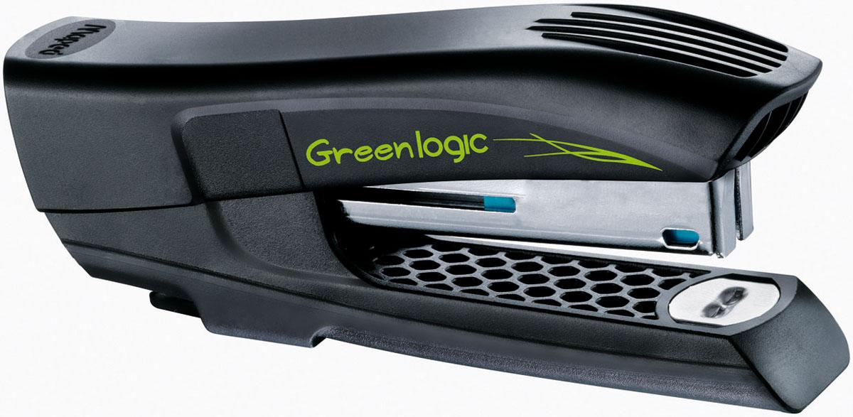 Степлер Maped Гринлоджик, № 10, на 15 листов, цвет: ассортиPP-103Степлер Maped Greenlogic рассчитан на 15 листов скобами №10. Оснащен встроенным дестеплером.Серия Greenlogic - это товары и упаковка, минимизирующие вред окружающей среде: лёгкие материалы, широкое использование материалов повторной переработки и утилизируемых материалов, производственный процесс и сырьё с лучшими природоохранными свойствами.В упаковке: степлер и 400 скоб. Характеристики: Размер степлера: 10 см х 4 см х 2,5 см. Размер упаковки: 18,5 см х 10,5 см х 3 см. Материал:пластик, металл. Цвет:черный. Изготовитель: Китай.