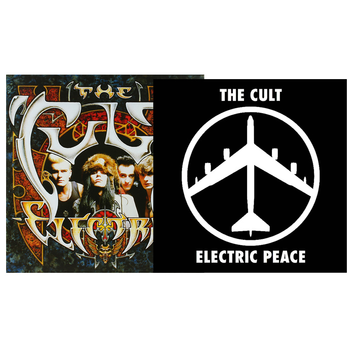 The Cult The Cult. Electric / Peace (2 LP) the unblemished