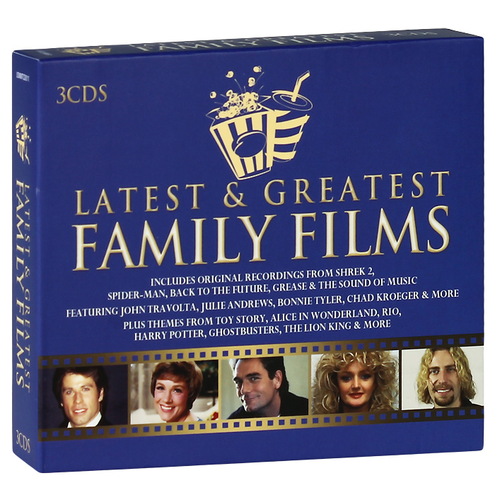 Latest And Greatest Family Films (3 CD)