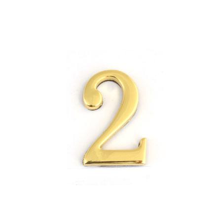 Цифра для обозначения номера квартиры 2, цвет: золотистый54 009312Цифра 2 для обозначения номера квартиры выполнена из золотистого металла. Устанавливается с помощью липкого слоя, нанесенного на обратную сторону изделия. Характеристики: Материал: металл. Цвет: золотистый. Размер цифры: 2,8 см х 4,3 см х 0,5 см. Размер упаковки: 12 см х 6 см х 0,7 см. Артикул: 67292.