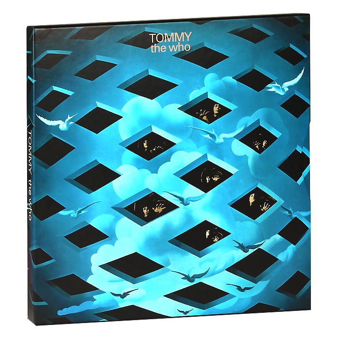 The Who The Who. Tommy. Limited Edition (3 CD + Blu-Ray Audio) new mf8 eitan s star icosaix radiolarian puzzle magic cube black and primary limited edition very challenging welcome to buy