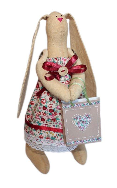 """Набор для изготовления текстильной игрушки """"Зайка Агата"""", высота 29 см, Кустарь"""