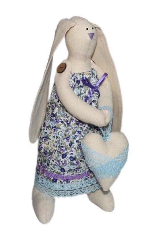 """Набор для изготовления текстильной игрушки """"Зайка Любава"""", высота 29 см, Кустарь"""
