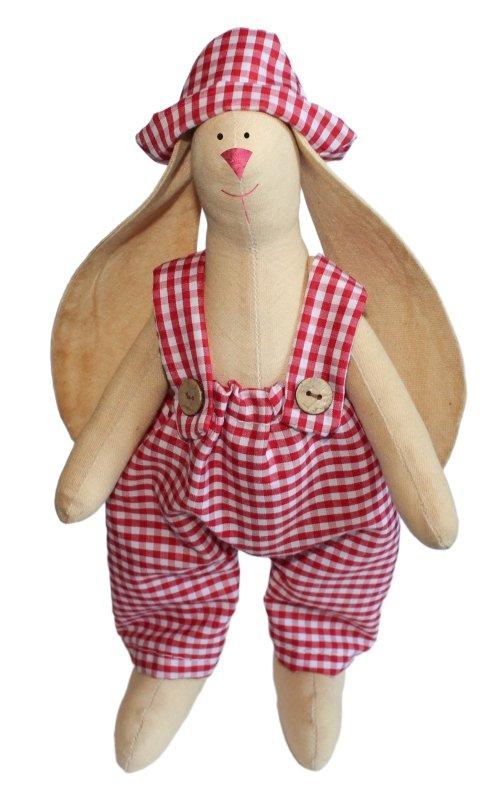 """Набор для изготовления текстильной игрушки """"Зайка Тимошка"""", высота 29 см, Кустарь"""