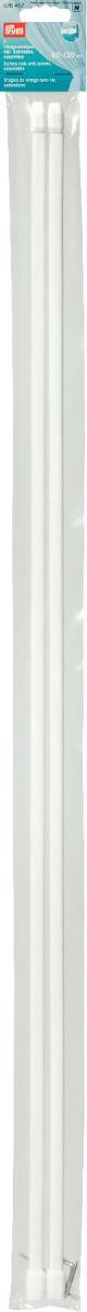 Штанги для витражей и окон Prym, телескопические, длина 80-120 см, 2 шт526452Длина варьируется по ширине окна, что очень удобно и функционально. Идеальны для пластиковых и деревянных окон, когда нет возможности или желания занавешивать окно гардиной. В комплекте идут крючки с резьбой для крепления витражного карниза. Характеристики:Материал: металл, пластик. Размер штанги: 80 см/120 см х 1 см х 0,5 см. Количество в упаковке: 2 шт. Размер упаковки: 81 см х 5 см х 1 см.