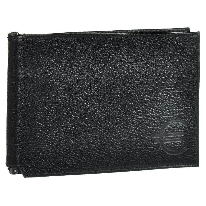 Зажим для купюр Askent, цвет: черный. Z.9.-9INT-06501Зажим для купюр Askent, выполнен из натуральной кожи черного цвета. На внутреннем развороте:металлическая фурнитура для купюр на пружине, три кармана для кредитных карт, дополнительный глубокий карман. На внешней сторонекарман для мелочи, закрывающийся на молнию. Такой зажим станет отличным подарком для человека, ценящего качественные и красивые вещи. Характеристики:Цвет: черный. Материал: натуральная кожа, металл. Размер: 11,5 см x 8,5 см. Размер упаковки: 10,5 см x 14,5 см x 1 см. Артикул: Z.9.-9.