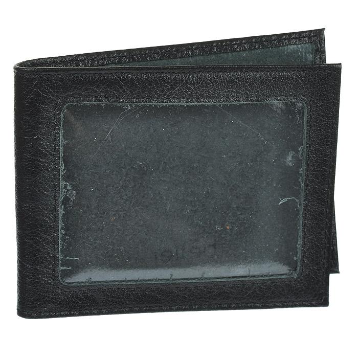 Обложка для удостоверения Befler, цвет: черный. F.13.-9INT-06501Стильная обложка для удостоверения Befler не только поможет сохранить внешний вид ваших документов и защитит их от повреждений, но и станет стильным аксессуаром, идеально подходящим вашему образу. Обложка выполнена из натуральной кожи черного цвета с окошком из прозрачного пластика. Внутри - два кармана из прозрачного пластика. Характеристики:Материал: натуральная кожа. Цвет: черный. Размер обложки: 10,5 см х 8 см х 1 см. Артикул:F.13.-9.