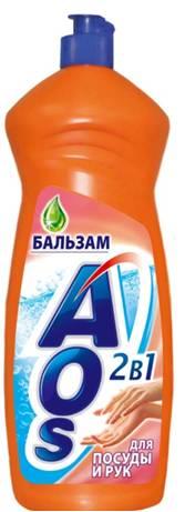 Жидкость для мытья посуды AOS Бальзам, 1 л790009Жидкость для мытья посуды AOS Бальзам не только эффективно удаляет любые загрязнения даже в холодной воде, но и бережно воздействует на кожу рук. Благодаря новой сбалансированной формуле средство отлично пенится, придает посуде кристальный блеск, после ополаскивания не оставляет разводов. Характеристики: Объем: 1 л. Артикул: 401-3. Товар сертифицирован.