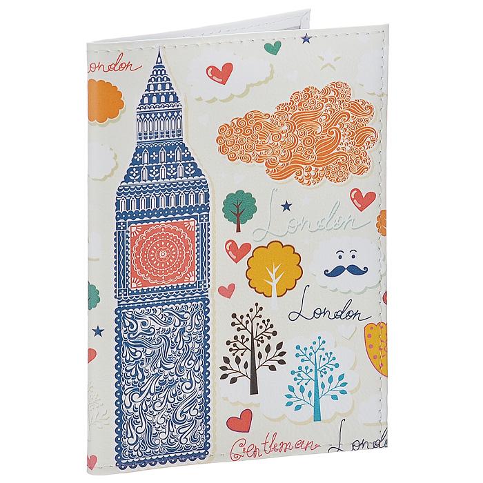 Обложка для паспорта Влюбленный Лондон. OK2260401045Обложка для паспорта Mitya Veselkov, выполненная из натуральной кожи, оформлена изображением сердечек, деревьев и достопримечательностей Лондона. Такая обложка не только поможет сохранить внешний вид ваших документов и защитит их от повреждений, но и станет стильным аксессуаром, идеально подходящим вашему образу. Яркая и оригинальная обложка подчеркнет вашу индивидуальность и изысканный вкус. Обложка для паспорта стильного дизайна может быть достойным и оригинальным подарком.Характеристики:Материал: натуральная кожа, пластик. Размер (в сложенном виде): 9,5 см х 13,5 см. Артикул: OK226.