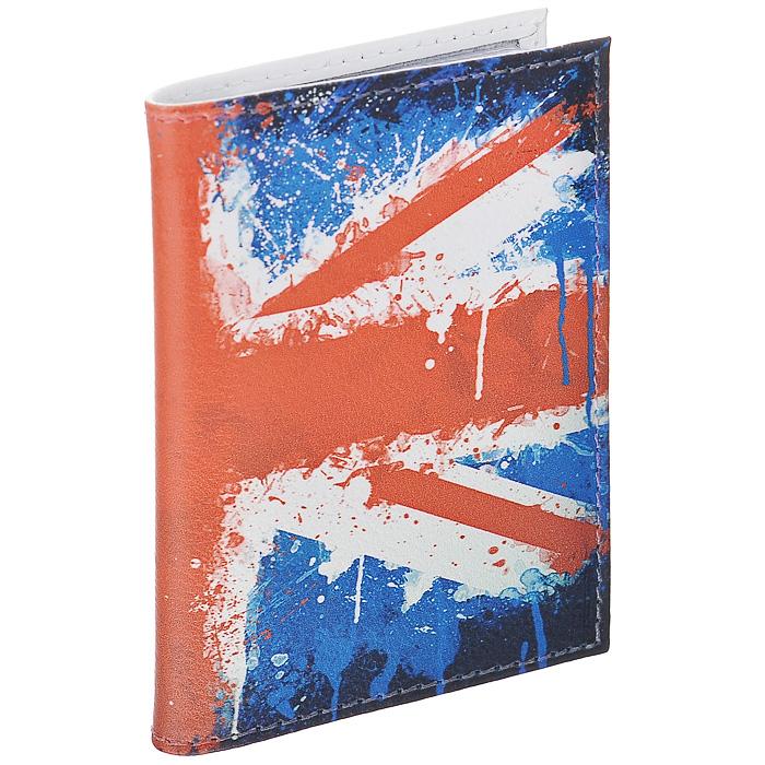 Визитница Британский флаг в краске. VIZIT-146BM151006Визитница Mitya Veselkov, выполненная из натуральной кожи, оформлена изображением британского флага. Внутри содержится блок из прозрачного пластика на 18 визиток и 2 прозрачных вертикальных кармана. Яркая и оригинальная визитница подчеркнет вашу индивидуальность и изысканный вкус. Визитница стильного дизайна может быть достойным и оригинальным подарком.Характеристики:Материал: натуральная кожа, пластик. Размер (в сложенном виде): 7 см х 10,3 см х 1 см. Артикул: VIZIT146.