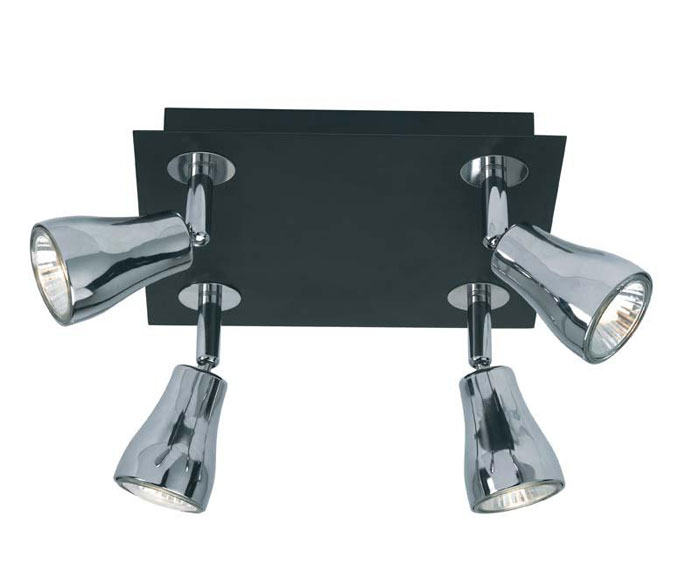 Светильник потолочный Markslojd Blank. 414423A9502PL-3CCПотолочный светильник Markslojd Blank отлично впишется в интерьер Вашего дома. Он хорошо смотрится как в классическом, так и в современном помещении, на штукатурке, дереве или обоях любой расцветки.Для безопасной и надежной коммутации светильника в сеть на корпусе светильника установлена клеммная колодка. Светильник дает яркий ровный сфокусированный световой поток в выбранном направлении.Светильники и люстры - предметы, без которых мы не представляем себе комфортной жизни. Сегодня функции люстры не ограничиваются освещением помещения. Она также является центральной фигурой интерьера, подчеркивает общий стиль помещения, создает уют и дарит эстетическое удовольствие. Характеристики:Материал: металл, стекло. Размер светильника: 15 см х 22 см х 22 см. Количество лампочек: 4 (входят в комплект). Размер упаковки: 10 см х 23 см х 23 см.