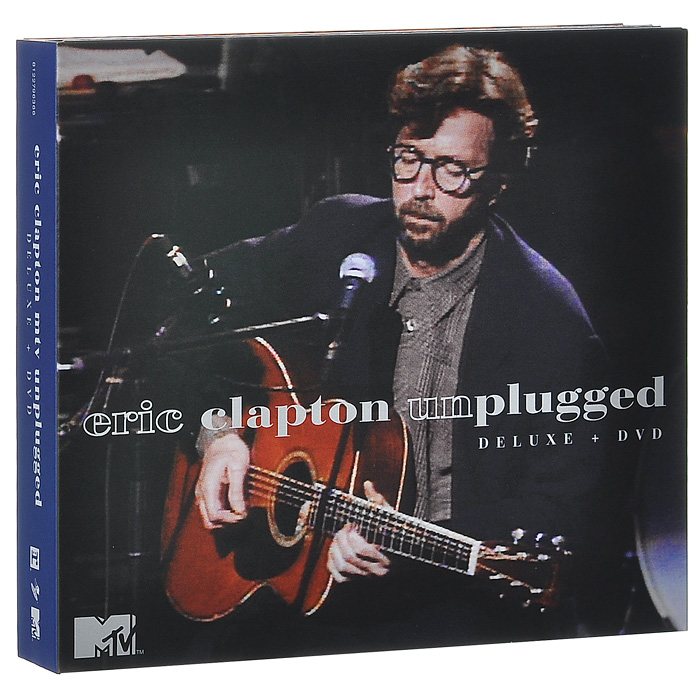 Эрик Клэптон Eric Clapton. MTV Unplugged. Deluxe Edition (2 CD + DVD) джеймс блант james blunt all the lost souls deluxe edition cd dvd
