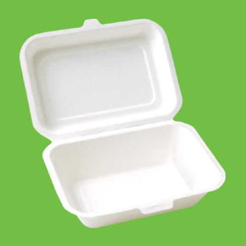Набор ланч-боксов Gracs, биоразлагаемых, цвет: белый, 600 мл, 10 штDRIW.611.INНабор Gracs состоит из 10 биоразлагаемых ланч-боксов, выполненных из экологически чистого материала - сахарного тростника. Материал не содержит токсинов и канцерогенов. Набор Gracs можно использовать как для холодных, так и для горячих продуктов.Набор можно использовать в микроволновой печи.Одноразовая биоразлагаемая посуда Gracs- полезно для здоровья, безопасно для окружающей среды!Размер ланч-бокса: 18 см х 14 см х 4,5 см.Размер крышки: 18 см х 13 см х 2 см.