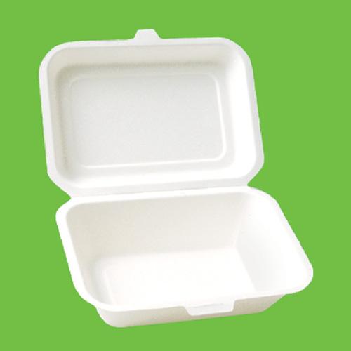 Набор ланч-боксов Gracs, биоразлагаемых, цвет: белый, 450 мл, 10 шт401-472_желтыйНабор Gracs состоит из 10 биоразлагаемыхх ланч-боксов, выполненных из экологически чистого материала - сахарного тростника. Материал не содержит токсинов и канцерогенов. Набор Gracs можно использовать как для холодных, так и для горячих продуктов.Набор можно использовать в микроволновой печи.Одноразовая биоразлагаемая посуда Gracs- полезно для здоровья, безопасно для окружающей среды!Размер ланч-бокса: 12 см х 18 см х 3,5 см.Размер крышки: 12 см х 18 см х 2 см.