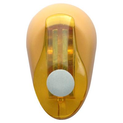 Дырокол фигурный Hobbyboom Круг, №71, цвет: оранжевый, 1 смFS-00102Фигурный дырокол Hobbyboom Круг изготовлен из пластика и металла, используется в скрапбукинге для создания оригинальных открыток и фотоальбомов ручной работы, оформления подарков, в бумажном творчестве и т.д. Рисунок прорези указан на ручке дырокола.Дырокол предназначен для вырезания фигурок из бумаги. Просто вставьте лист бумаги в дырокол. Нажмите на рычаг. Вырезанную фигурку в виде кружочка можно использовать для дальнейшего декорирования.Предназначен для бумаги определенной плотности - 80 - 200 г/м2. При применении на бумаге большей плотности или на картоне, дырокол быстро затупится. Материал: пластик, металл. Размер дырокола: 5 см х 3 см х 4 см. Диаметр готовой фигурки: 1 см.