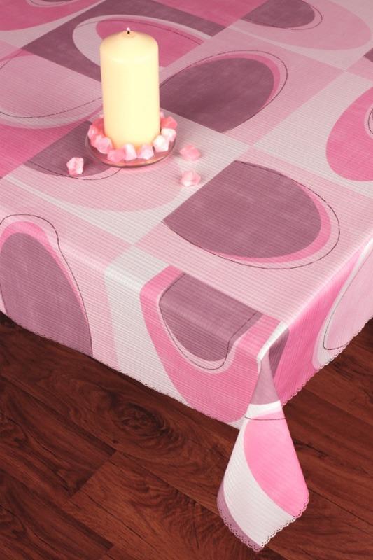 Скатерть Haft, прямоугольная, цвет: сиреневый, 160x 120 смVT-1520(SR)Великолепная прямоугольная скатерть Haft, выполненная из полиэстера, с абстрактным рисунком сиреневого цвета органично впишется в интерьер любого помещения, а оригинальный дизайн удовлетворит даже самый изысканный вкус. Ажурный край скатерти придает ей оригинальность и своеобразие. В современном мире кухня - это не просто помещение для приготовления и приема пищи; это особое место, где собирается вся семья и царит душевная атмосфера. Кухня - душа вашего дома, поэтому важно создать в ней атмосферу уюта. Характеристики: Материал: 100% полиэстер. Размер: 160 см х 120 см. Цвет: сиреневый. Производитель: Польша. Артикул: 201740/120.