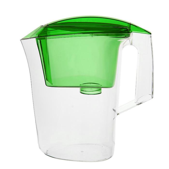 Фильтр-кувшин Гейзер Дельфин, цвет: зеленыйПОС1253Фильтр-кувшин Гейзер Дельфин. Предназначен для очистки холодной водопроводной, скважинной и колодезной воды от ржавчины, растворенного железа, тяжелых металлов, хлора, органических соединений и других примесей. Улучшает вкус и цвет воды, а также устраняет неприятные запахи. Эффективность очистки воды от основных примесей в зависимости от качества исходной воды составляет до 100 %. Не рекомендуется использовать фильтр-кувшин для очистки воды спревышением норм ПДК (предельно допусти¬мая концентрация) более чем в 3 раза. Преимущества Фильтра-кувшина Гейзер Дельфин: - Картридж с материалом Каталон (100% защита от вирусов). - Компактный размер. - Эргономичный дизайн. - Современный пищевой пластик. - Герметичная крышка. В комплекте картридж Гейзер 301. Ресурс 200 литров. Дополнительная информация:Общий объем кувшина: 3 л. Объем приемной воронки: 1,4 л. Полезный объем: 1,6 л. Температура очищаемой воды до +40 °С. Скорость очистки от 0,4 до 0,2 л/мин. Цвет: зеленый.