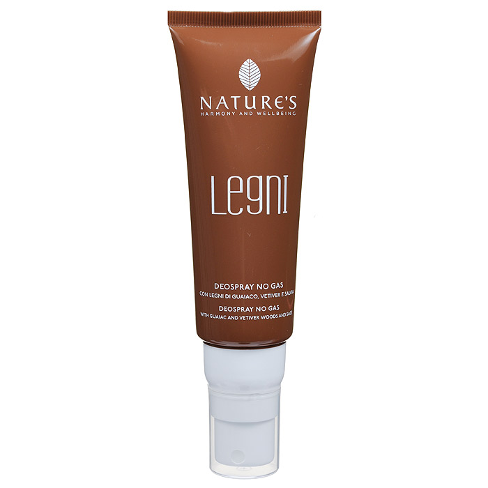 Natures Дезодорант Legni, мужской, 75 мл7201Дезодорант для тела обеспечивает комфорт и свежесть надолго. Эффективно воздействует на патогенную флору, освежает и дарит ощущение благополучия. Отсутствие спирта, солей алюминия и других антиперспирантных агентов гарантирует идеальное состояние даже самой чувствительной кожи. Не оставляет пятен. Характеристики:Объем: 75 мл. Артикул: 60190902. Производитель: Италия. Товар сертифицирован.