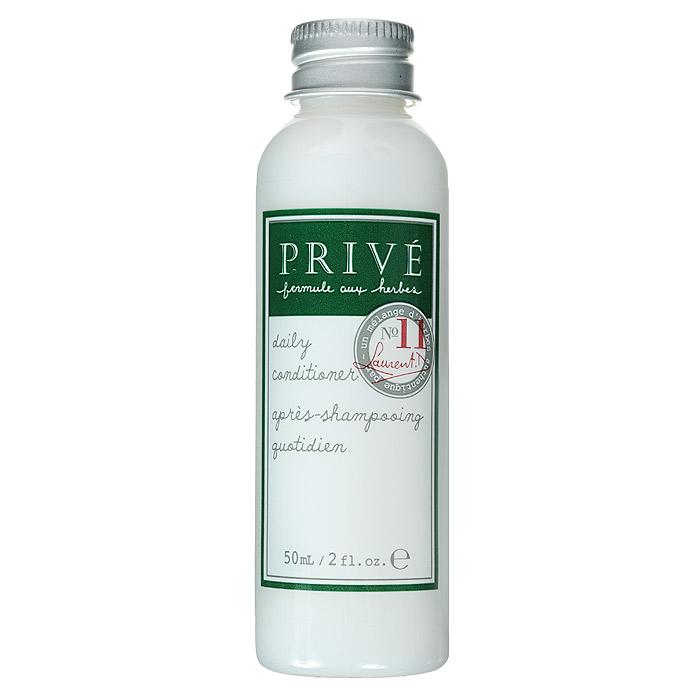 Prive Кондиционер для ежедневного ухода за волосами, 50 млFS-00897Кондиционер Prive делает волосы здоровыми и блестящими, смягчает для лучшего расчёсывания. Ультра-лёгкая формула позволяет ухаживать за волосами ежедневно, делая послушными и не утяжеляя их. Алоэ-вера, экстракт коры дикой вишни и смесь трав прекрасно смягчают и увлажняют волосы.Имеет в составе пантенол. Прекрасно питает волосы, насыщая их протеинами. Сохраняет цвет окрашенных волос. Характеристики:Объем: 50 мл. Артикул: PRV4913501. Производитель: США. Товар сертифицирован.