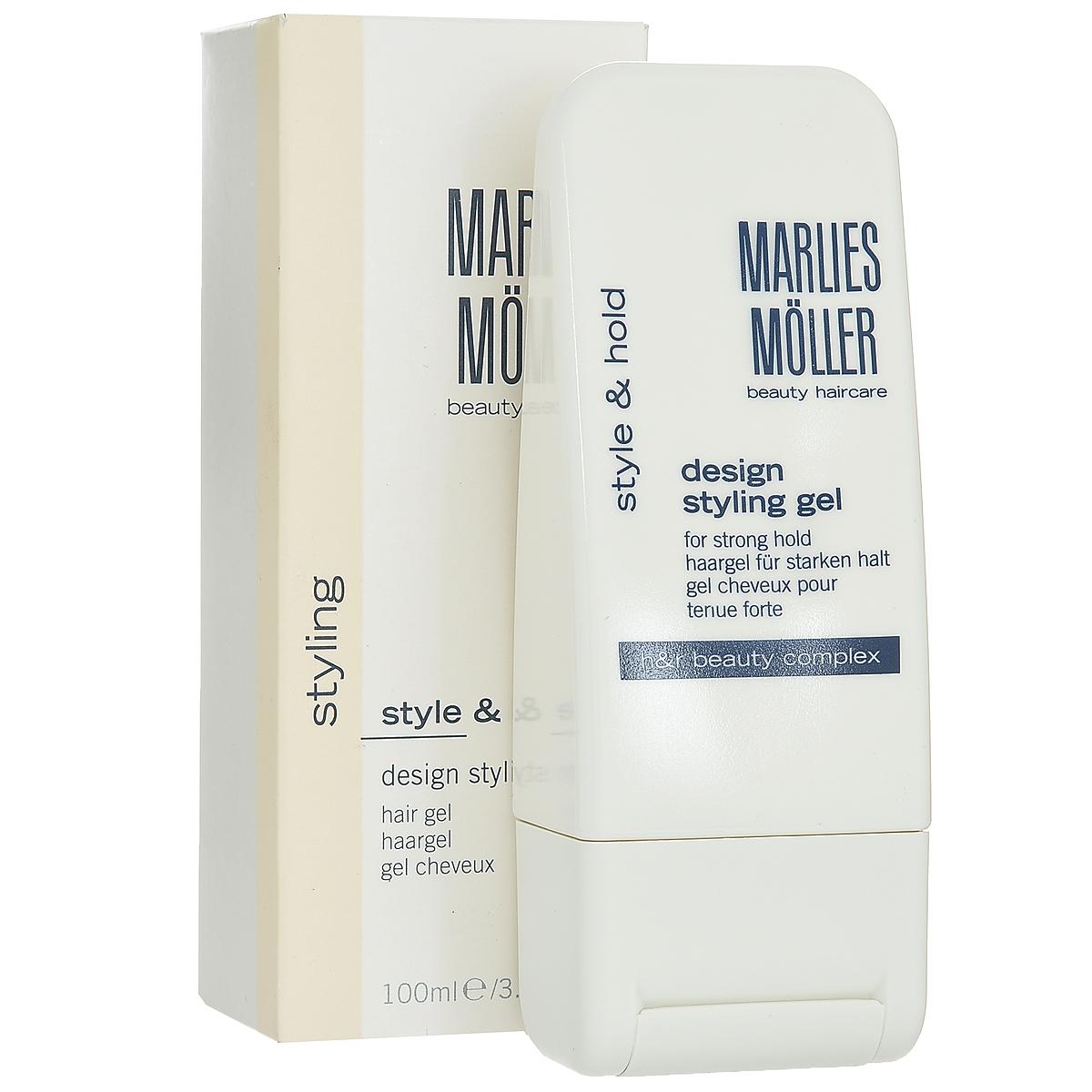 Marlies Moller Гель Styling, для креативной укладки волос, 100 млWF-81372248Фиксирует прическу, не склеивая волосы. Очень сильная укладка для любых волос. Рекомендуется для любого типа укладки (укладка феном, укладка руками, укладка на бигуди, подчеркивание прядей, создание эффекта мокрых волос). Можно наносить на влажные и на сухие волосы. Создает эффект мокрых волос, если наносить на влажные волосы. Если на сухие - эффект гладких волос. Увлажняет волосы и препятствует потере влаги. Придает волосам блеск. Легко удаляется с волос. УФ-защита. Не содержит алкоголь и смолы. Идеален для защиты волос от солнца и соленой воды на пляже.Возьмите небольшое количество средства. В зависимости от желаемого эффекта нанесите на сухие или подсушенные полотенцем волосы, уложите как обычно.