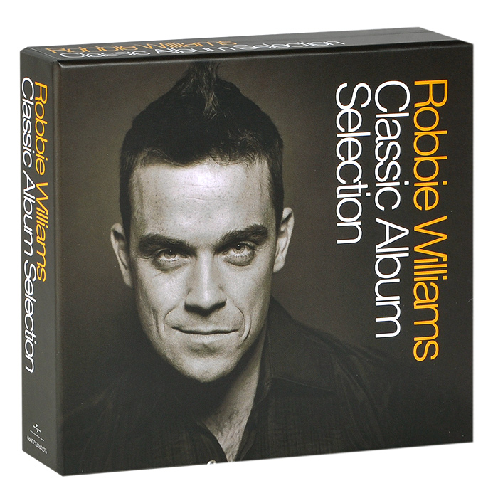 Робби Уильямс Robbie Williams. Classic Album Selection (5 CD) cd диск hackett steve genesis revisited ii selection 1 cd