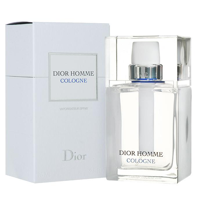 Christian Dior Homme Cologne. Туалетная вода, мужская, 75 мл