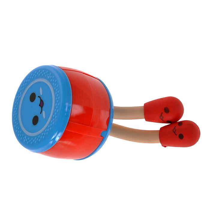 Точилка для карандашей Барабан, 2 ластика, цвет: красный, голубой. 0035090717038В набор входит два ластика в виде барабанных палочек и барабан - точилка для карандашей. Острое лезвие обеспечит высококачественную и точную заточку карандашей, а оригинальный декор поднимет вам настроение и украсит рабочий стол. Характеристики: Материал: пластик, металл. Цвет: красный, голубой. Размер точилки: 4,5 см х 3,5 см х 4,5 см. Размер барабанных палочек: 5,5 см х 1,5 см. Артикул: 003509.
