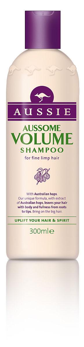 Aussie Шампунь Aussome Volume, для тонких волос, 300 мл81446435Супер-объем для легких на подъем!Некоторым волосам объем можно придать всего двумя способами: либо отменить гравитацию, либо позволить им немного захмелеть. Над первым способом мы продолжаем работать, а вторым уже можно пользоваться. Специальный шампунь Aussie Aussome Volume с экстрактом австралийского хмеля сделает волосы объемными и упругими, оживит и приподнимет даже тусклые и тонкие волосы. Так что поверь, даже если ты не любишь пиво, хмельной объем в волосах тебе точно понравится.- Шампунь Aussie Aussome Volume с помощью австралийского хмеля придаст волосам такой роскошный объем, что они почувствуют себя звездами.Способ применения: Откройте бутылку, нанесите шампунь на мокрые волосы, глубоко вдохните и насладитесь восхитительным ароматом. Промойте водой. Для по-настоящему большого объема используйте вместе с бальзамом-ополаскивателем Aussie Aussome Volume. Состав: Aqua, Sodium Laureth-12 Sulfate, Cocamidopropyl Betaine, Sodium Lauryl Sulfate, Cocamide Mea, Phenoxyethanol, Parfum, Sodium Chloride, Dissodium Edta, Guar Hydroxypropyltrimonium Chloride, Aminomethyl Propanol, Isopropylparaben, Butylparaben, Isobutylparaben, Benzyl Salicylate, Citric Acid, Eugenol, Hexyl Cinnamal, Propylene Glycol, Linalool, Sodium Diethylenetriamine Pentamethylene Phosphonate, Etidronic Acid, Citronellol, Panthenol, HydrolyzedWheat Protein, Pruus Serotina Bark Extract, Humulus Lupulus Extract, Ci 14700, Hedychium Coronarium Root Extract, Hydrolyzed Wheat Starch, Potassium Sorbate, Methylparaben, Ethylparaben, Propylparaben. Товар сертифицирован.