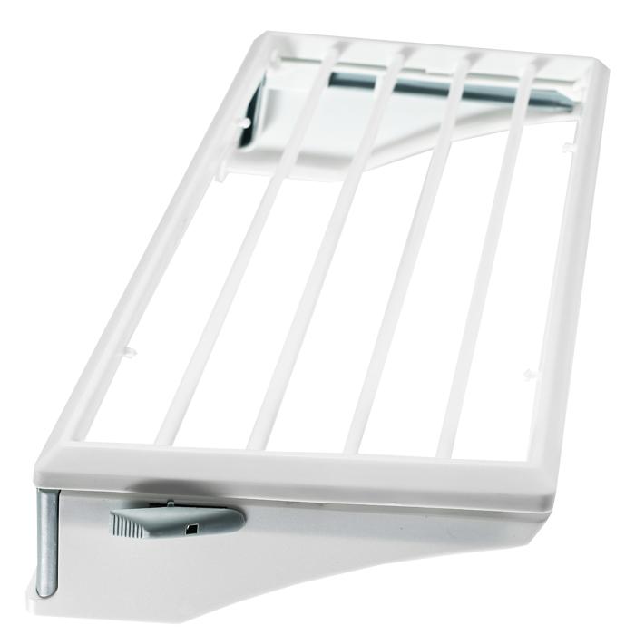 Сушка Rayen навесная, 50 см х 24 см х11 смGC204/30Сушилка для белья - удобная и функциональная вещью Предназначена для сушки небольших изделий. Идеальна для крепления на радиатор отопления, перечни балкона и т.д. Характеристики: Материал: пластмасса. Размер сушилки: 50 см х 24 см х 11 см. Размер упаковки: 51 см х 26 см х 5 см. Производитель: Испания. Артикул: 37003192.
