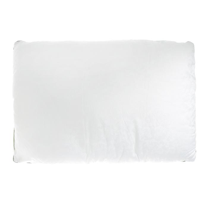 Подушка OL-Tex Organic Dream, от нервного напряжения, наполнитель: смесь натуральных трав, цвет: белый, 50 х 68 см66(14)02Чехол подушки OL-Tex Organic Dream выполнен из благородного сатина белого цвета с жаккардовым рисунком. Наполнитель подушки - смесь натуральных трав: мелиссы, чабреца, шишек хмеля с высокосиликонизированным микроволокном Ol-tex.Подушка с ароматом лекарственных растений - это крепкий и здоровый сон. Мелисса обладает антидепрессивными и иммуномодулирующими свойствами, чабрец способствует профилактике легочных заболеваний, снимает нервное напряжение, шишки хмеля оказывают мягкое седативное, успокаивающее действие. В состав лекарственных сборов входит только натуральное, экологически чистое сырье.Подушка упакована в чехол натурального цвета на змейке с ручкой, что является чрезвычайно удобным при переноске.Рекомендации по уходу:- Стирка запрещена,- Нельзя отбеливать. При стирке не использовать средства, содержащие отбеливатели (хлор),- Не гладить. Не применять обработку паром,- Химчистка с использованием углеводорода, хлорного этилена, монофтортрихлорметана (чистка на основе перхлорэтилена),- Нельзя выжимать и сушить в стиральной машине. Характеристики: Материал чехла: сатин-жаккард (100% хлопок). Наполнитель: микроволокно OL-tex, саше из натуральных лекарственных трав (мелисса, чабрец, хмель). Цвет: белый. Вес наполнителя: 800 г. Размер подушки: 50 см х 68 см. Размер упаковки: 65 см х 45 см х 10 см. Артикул: ОТНС-57.