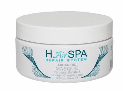 H.AirSPA Маска Argon Oil на масле арганы, 236 млFS-00897Интенсивная маска H.AirSPA Argon Oil создана для глубокого восстановления и увлажнения поврежденных волос. При регулярном использовании возвращает волосам блеск и эластичность. Характеристики:Объем: 236 мл. Артикул: HS84. Производитель: США. Товар сертифицирован.