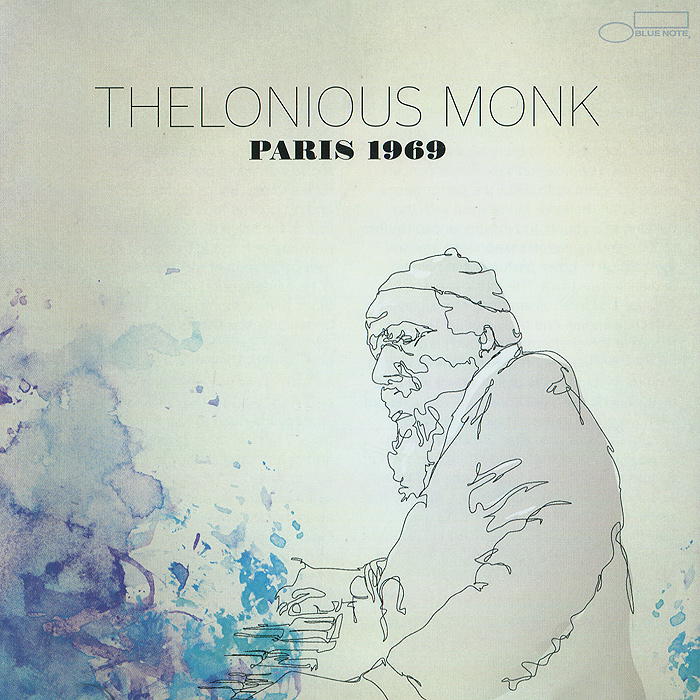 Телониус Монк Thelonious Monk. Paris 1969 (CD + DVD)