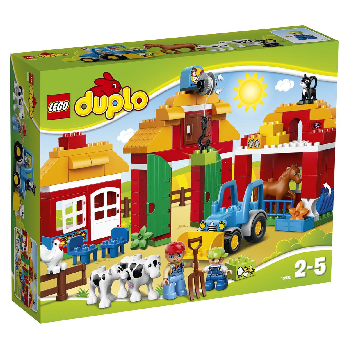 LEGO DUPLO Конструктор Большая ферма 10525