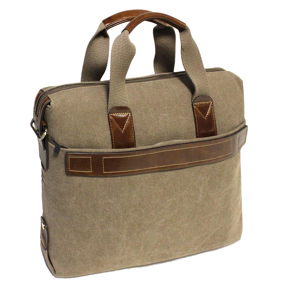 Сумка мужская Edmins, цвет: хаки. 6000-4#ML597BUL/DМужская сумка Edmins выполнена из плотного текстиля цвета хаки и отделки из натуральной кожи коричневого цвета.Сумка содержит одно основное отделение, которое закрывается на застежку-молнию. Внутри - отделение для ноутбука на липучке, вшитый карман на молнии, два накладных кармашка для телефона и мелких бумаг и два фиксатора для пишущих принадлежностей. На лицевой стороне сумки расположен горизонтальный карман на кнопке и небольшой вшитый кармашек на молнии. На задней стенке - отделение для бумаг на кнопке.Сумка оснащена двумя удобными ручками и отстегивающимся плечевым ремнем регулируемой длины.Сегодня мужская сумка - это необходимый аксессуар, который не только уместит все необходимые вещи, но и подчеркнет ваш стиль. Характеристики: Материал: текстиль, натуральная кожа, металл. Цвет: хаки. Размер сумки: 40 см х 7 см х 28 см.Высота ручек: 15 см. Артикул: 6000-4#.