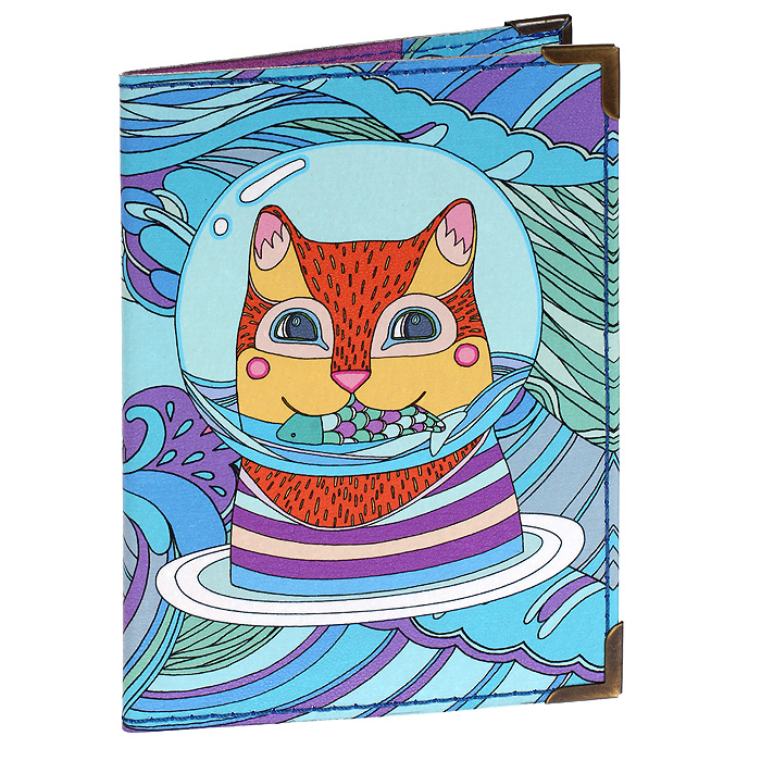 Обложка для паспорта Сытный обед, цвет: голубой, фиолетовыйPS-GL-0037Обложка для паспорта Сытный обед, выполненная из натуральной кожи, оформлена авторским принтом (полноцветная печать). Внутренняя сторона обложки выполнена из натуральной замши фиолетового цвета. Края обложки отделаны металлическими уголками. Обложка не только поможет сохранить внешний вид ваших документов и защитит их от повреждений, но и станет стильным аксессуаром, идеально подходящим вашему образу. Яркая и оригинальная обложка подчеркнет вашу индивидуальность и изысканный вкус. Эта обложка для тех, кто во всем находит вдохновение и никогда не унывает, кто всюду видит красоту и яркие краски этого прекрасного мира. Обложка для паспорта стильного дизайна станет достойным и оригинальным подарком.Художник: Инна Саркисова. Обложка упакована в фирменный чехол-конверт BORЯN®. Характеристики:Материал: натуральная кожа, металл. Размер: 10 см х 13,5 см. Артикул:531. BORЯN (БОРЯН) - российская марка авторской малотиражной продукции: сумки из натуральной кожи и художественного текстиля, аксессуары и кожгалантерея, предметы интерьера, подарки. Коллекции обновляются четыре раза в год. В основе каждого изделия лежит оригинальный сюжет художников марки.В аксессуарах BORЯN особый интерес вызывает смелый эксперимент дизайнеров марки с рисунком, формой и фактурой используемых материалов. В подарках BORЯN особое внимание уделяется сюжету, который можно легко ассоциировать с характером и привычками человека, получающего подарок.Бренд BORЯN представлен на российском рынке с 2007 года и имеет золотую награду за вклад в развитие российской культурно-производственной деятельности. BORЯN не делает вещи - BORЯN делает настроение!