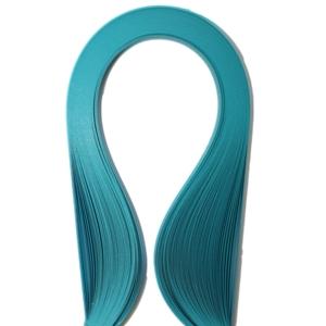 Набор бумаги для квиллинга, цвет: голубой, полоски 0,5 см х 30 см, 100 шт