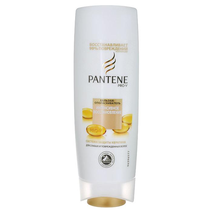 Pantene Pro-V Бальзам-ополаскиватель Интенсивное восстановление, 200 мл81601045Благодаря обогащенной восстанавливающей формуле с особыми веществами, питающими волосы на микроуровне, бальзам-ополаскиватель PantenePro-V Интенсивное восстановление помогает удерживать влагу глубоко внутри, придавая волосам здоровый внешний вид и блеск. Бальзам-ополаскиватель PantenePro-V Интенсивное восстановление борется с признаками повреждения и питает поврежденные и сухие волосы, делая их гладкими, сияющими и здоровыми. Для наилучших результатов используйте с шампунем и средствами для ухода за волосами PantenePro-V Интенсивное восстановление.