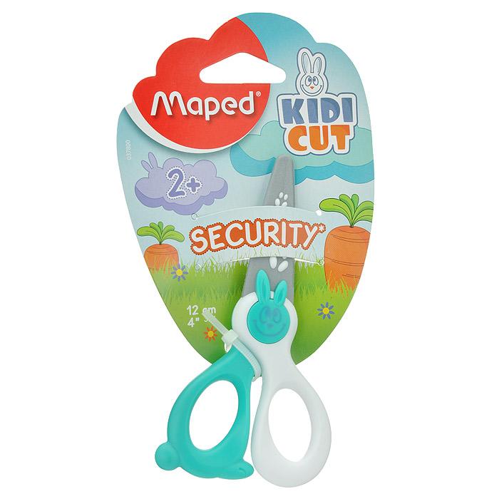 Ножницы детские Security, цвет: белый, бирюзовый, 12 смAC-1121RDДетские ножницы Kidikut с закругленными концами имеют специальные лезвия из фибергласа, которые режут бумагу, но не повредят кожу ребенка, волосы или одежду.Идеальны для обучения обращению с ножницами вашего малыша. Характеристики:Длина ножниц: 12 см. Цвет: голубой. Изготовитель: Китай.