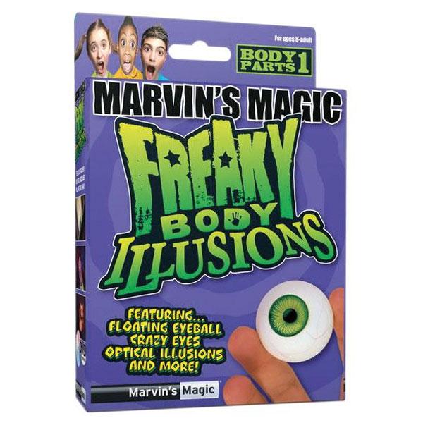"""Развлекательный набор """"Смешные ужасы и иллюзии с глазами от Marvin"""