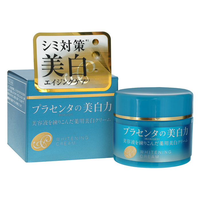 Meishoku Крем с экстрактом плаценты, с отбеливающим эффектом, 50 г236013Крем Meishoku - антивозрастное средство! Предупреждает появление пигментных пятен! Увлажняет и отбеливает кожу, придавая ей здоровый и сияющий вид! Сила отбеливания - в плаценте! Крем глубоко увлажняет, поддерживает оптимальный уровень влаги в клетках кожи, придает ей упругость и эластичность. Активные компоненты в составе средства обладают увлажняющими, восстанавливающими и отбеливающими свойствами: Экстракт плаценты регулирует образование меланина в клетках кожи, предупреждая тем самым появление пигментных пятен и веснушек. Предотвращает сухость, увлажняет. Кожа становится более здоровой и сияющей. Коллаген увлажняет, предупреждает появление морщинок. Экстракты перловой крупы и шелковицы - увлажняющие растительные экстракты, обладают отбеливающими свойствами. В составе средства используется экстракт плаценты высокой очистки и только собственного производства.Характеристики:Вес: 50 г. Артикул: 236013. Производитель: Япония. Товар сертифицирован.