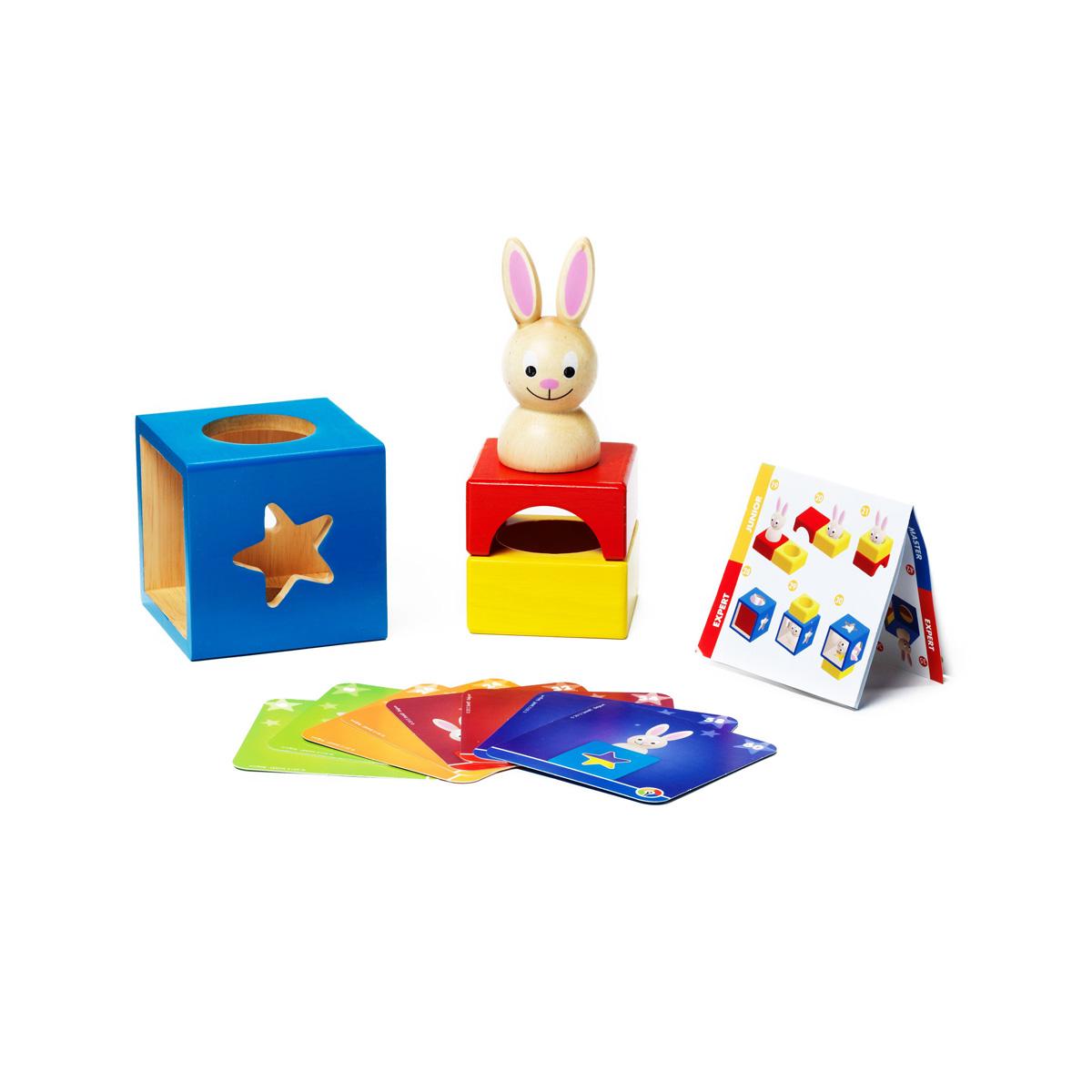 Bondibon Обучающая игра Застенчивый кролик