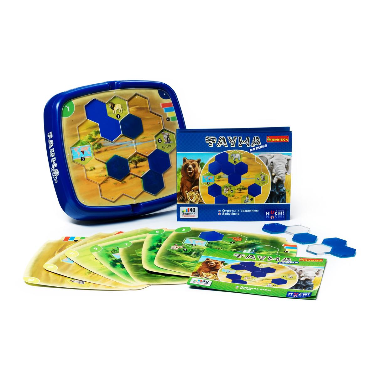 Bondibon Обучающая игра Фауна