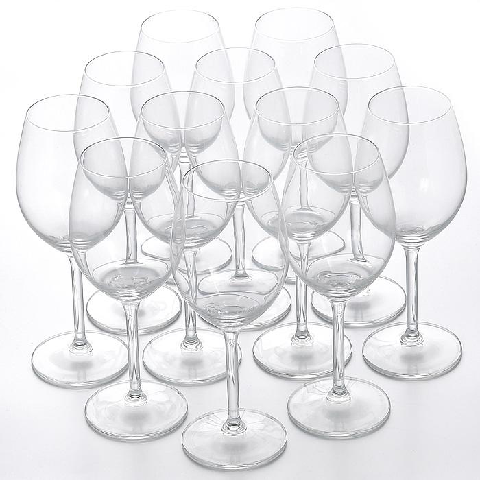 Набор бокалов Selection, 12 штGE01-1689Набор Selection, выполненный из высококачественного стекла, состоит из шести бокалов объемом 400 мл и шести бокалов объемом 330 мл. Изящные бокалы на высокой ножке предназначены для подачи различных напитков.Набор бокалов Selection великолепно украсит праздничный стол и станет отличным подарком к любому празднику. Характеристики:Материал: стекло. Комплектация: 12 шт. Объем большого бокала: 400 мл. Диаметр большого бокала по верхнему краю: 5,5 см. Диаметр основания большого бокала: 7 см. Высота большого бокала: 20 см. Объем маленького бокала: 330 мл. Диаметр маленького бокала по верхнему краю: 5,5 см. Диаметр основания маленького бокала: 7 см. Высота маленького бокала: 19,5 см. Размер упаковки: 41 см х 32 см х 17 см. Артикул: Гл 541205.